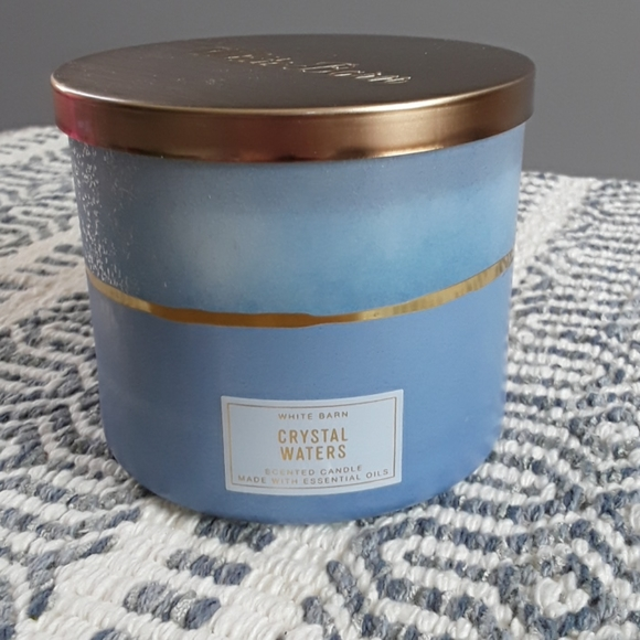 New Crystal Waters candle